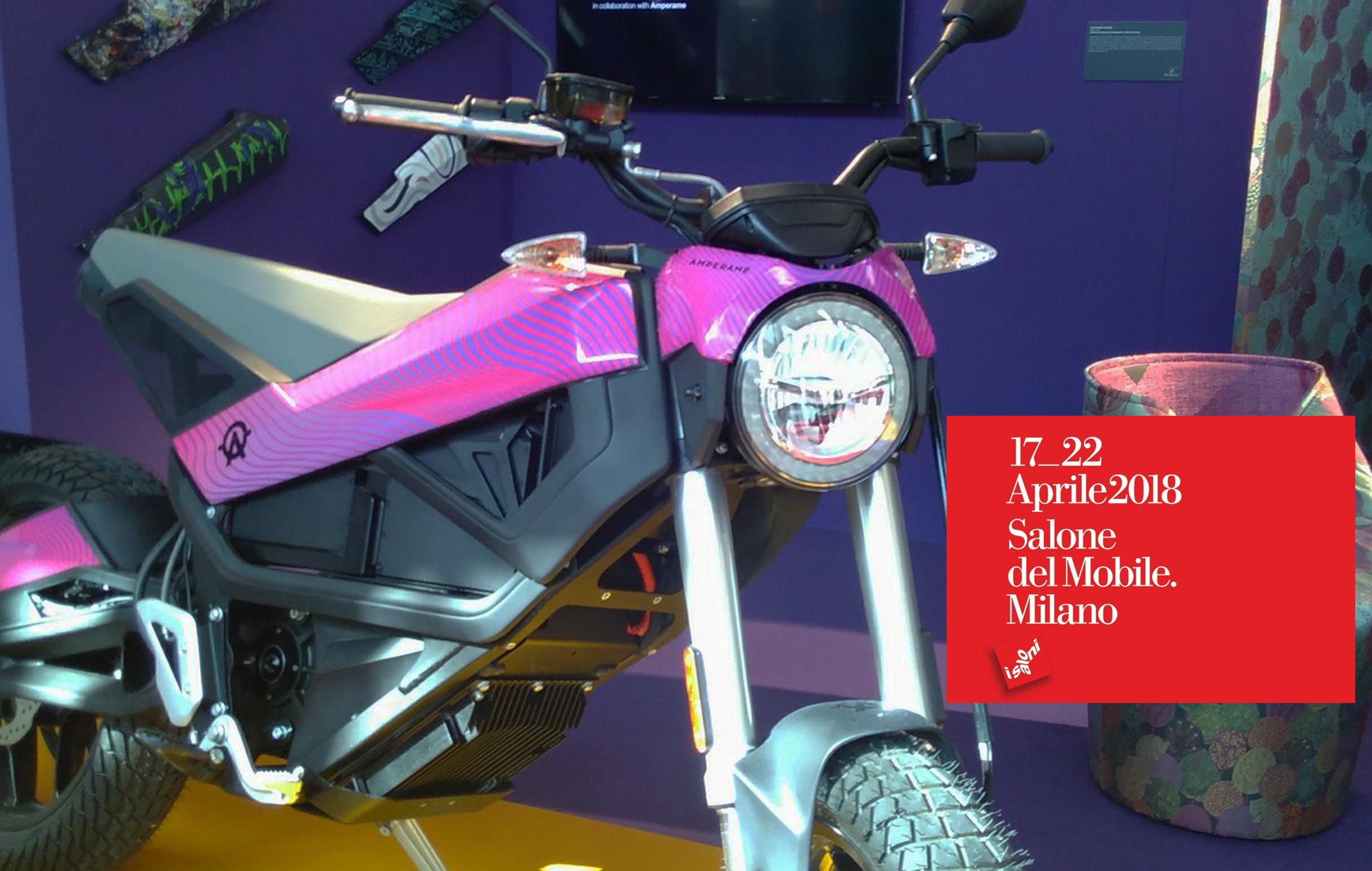 Salone del Mobile – il nostro faro a LED in esposizione