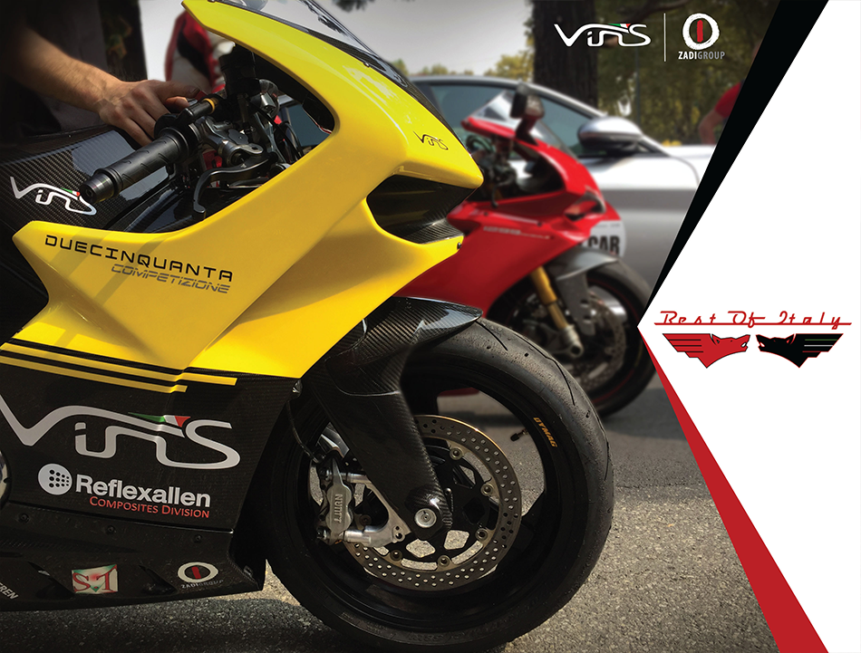 VINS con ZADI GROUP all'evento Best of Italy Race