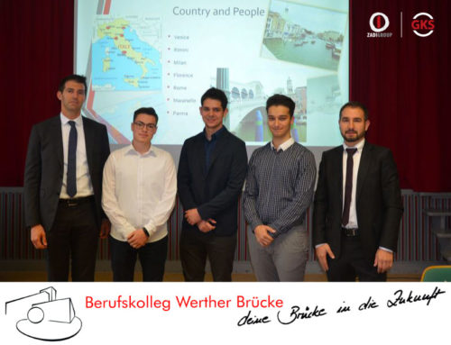 Internship abroad – Zadi is the destination of three student from BKWK in Wuppertal