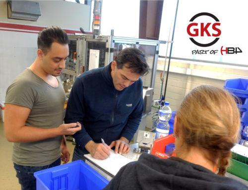 Due praticanti in GKS dall'istituto BKWB di Wuppertal