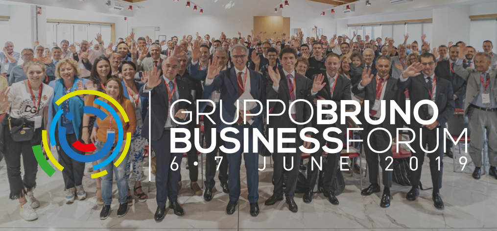 "THE FIRST ""GRUPPO BRUNO BUSINESS FORUM"""